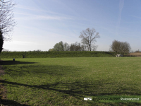 D 414 De Rijndijk bij Aalst. Foto gebruikt voor het lespakket Water/Land. Hierin wordt aandacht besteed aan de manier ...