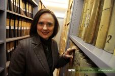 Portretfoto van Ella Kok-Majewska, directeur van het Regionaal Archief Rivierenland