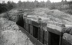 Mobilisatie Kesteren en omgeving: een schuilplaats / versterking half in de grond