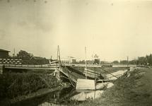 Mobilisatie Kesteren en omgeving: kapotte brug met noodbrug