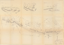 1595 Map II: tekeningen bij het aangepast principeplan van dijkverbetering Bellevue-Zennewijnen, 1993