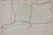 1117-1 Kaart van een gedeelte van de Haaftensche en Hellouwsche Ban, Schaardijk en binnenlanden