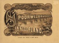 3503-Br-3337 De voornaamsre spoorwegbruggen in Nederland, omslag voorzijde
