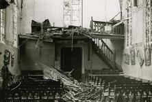 13-11 Door oorlog verwoest interieur rooms-katholieke kerk
