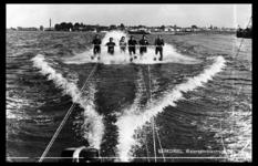 14-1862 Waterskiërs watersportcentrum Den Bol