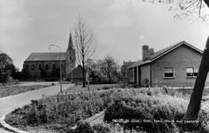19-1650 Hervormde kerk met pastorie