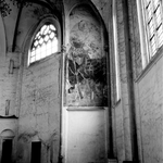 22-9339 Interieur Sint Maartenskerk. muurschildering H. Christoffel (Christophorus)