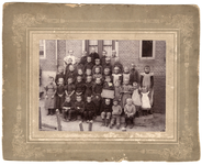 2-363 Schoolfoto openbare lagere school Aalst, groep 1