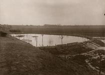 22-4302 Indammen kwelwater nabij Panoven met een ringdijk tijdens het hoogwater met dreiging van een watersnood