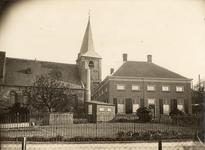 1-639 Hervormde kerk met boerderij