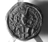 2330 Zegel van: Frans van Hekeren d.d. 26 maart 1601 schepen in de Hoge Bank van Deil