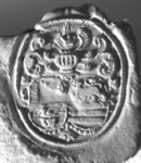 539 Zegel van: Cornelis Arnoldus Prillevitz d.d. 20 sept. 1800 schepen van Zaltbommel. NB. Hij zegelt met een ...