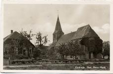 15-10006 Hervormde kerk met boerderij
