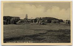 22-10571 Zicht op de oude watertoren en Sint Maartenskerk vanaf de uitwaarden