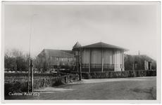 2-10052 Centrum van Aalst met muziektent en hervormde kerk